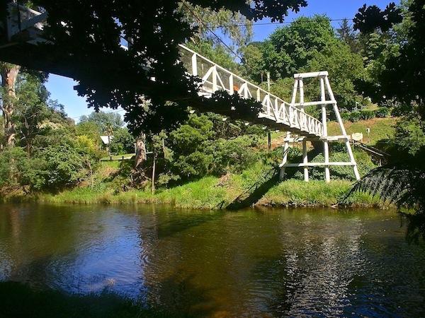 Warburton Foot Bridge