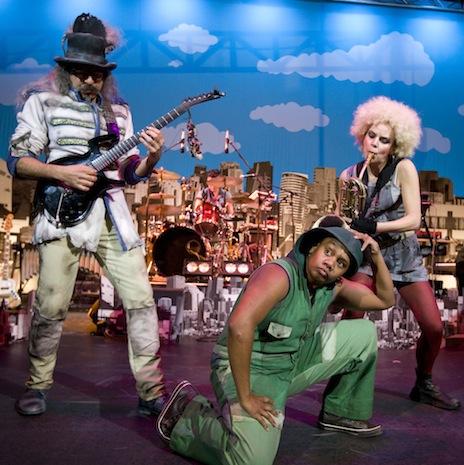Circus Oz ensemble