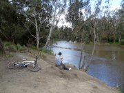 View of the Yarra near Dights Falls