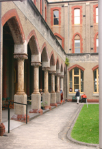 Abbotsford Convent Courtyard Walk