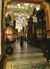 Block arcade Melbourne shopping
