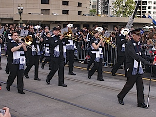 The Geelong Cats band 2011