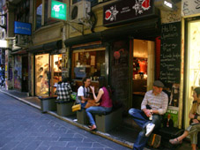 Centre way Melbourne cafe