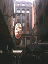 Melbourne Degraves Street