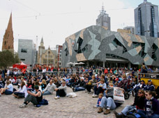 AFL Grand Final at Fed Square 2007