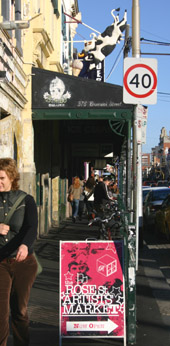 Fitzroy Brunswick Street shopping