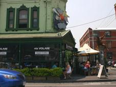 Fitzroy cafe, Melbourne