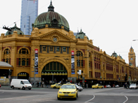 Flinders St station Melbourne