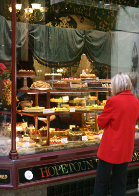 Afternoon Tea Melbourne shop window