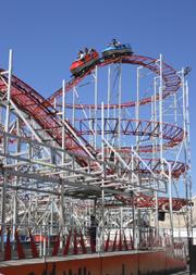 Luna Park Melbourne Roller Coaster