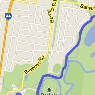 Main Yarra Trail Map