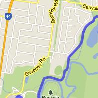 Main Yarra Trail Map