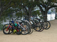 Melbourne Cycling at Birrarung Marr