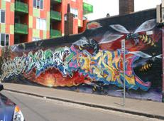 Melbourne Street art, Fitzroy