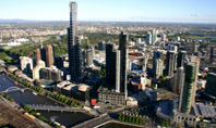 View from Rialto tower Melbourne