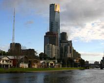 Melbourne Southbank Yarra river