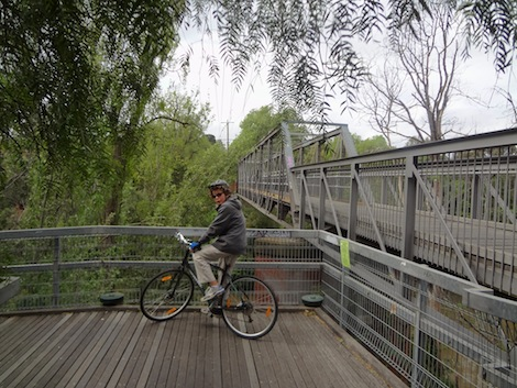 Yarra Bike Path Bridge