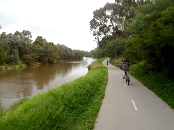 Main Yarra Bike Path near Richmond