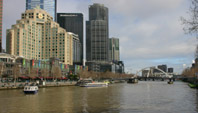 Melbourne Southbank foreshore