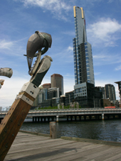 Southbank Melbourne with Eureka