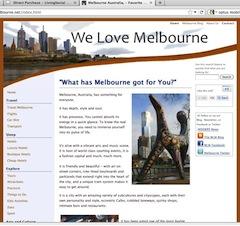 We-Love-Melbourne.net
