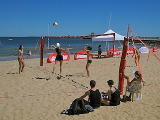 St Kilda Beach Volleyball
