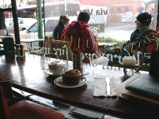 Melbourne Fitzroy Cafe