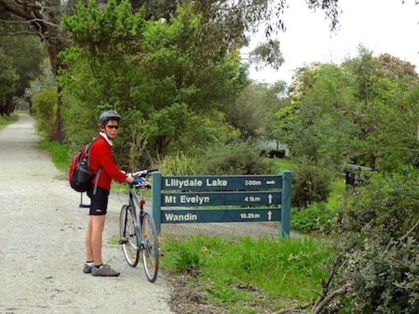 Lilydale Warburton Bike Path