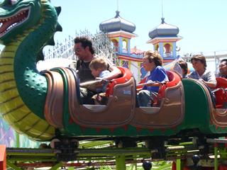 Luna Park Melbourne Ride