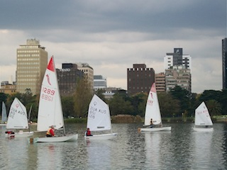Melbourne sailing, Albert Park Lake