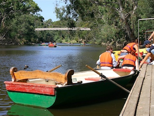 Studley Park Boathouse boat hire