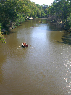 Yarra River at Boathouse