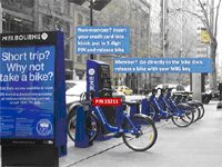 Melbourne Bike share station