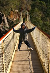 In Cataract Gorge Launceston