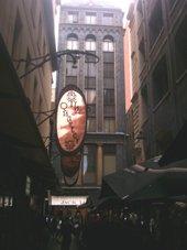 Melbourne Degraves Street