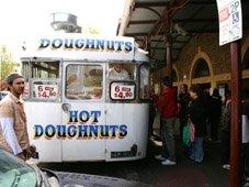 Doughnuts at Queen Victoria Market Melbourne