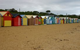 Melbourne, Brighton Beach huts