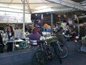 Cafe at Queen Victoria Market