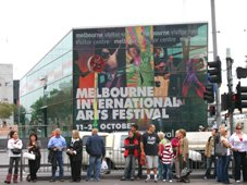 Melbourne International Arts Festival Ad