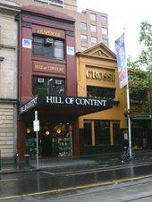 Melbourne bookshop, Bourke Street