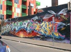 Melbourne Stencil graffiti