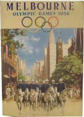 1958 summer olympics poster