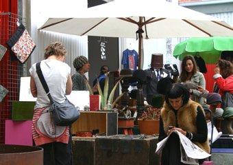 Rose Street Artist Market stall