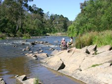 Yarr River at Warrandyte, Melbourne