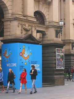 Melbourne Townhall Comedy Festival Venue