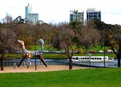 Melbourne view of Yarra