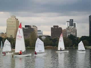 Melbourne sailing, Albert Park Lake
