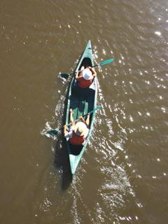 Studley park Boathouse canoe